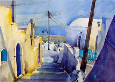 Finikia- Santorini 56x38 cm