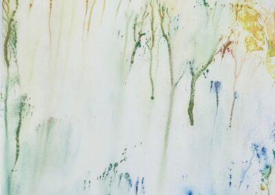 Handdruck lichter Wald 30x38 cm