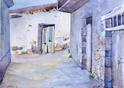 Selia auf Kreta 40x30 cm