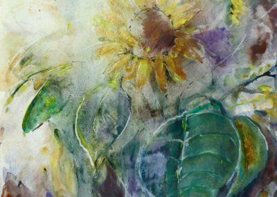 Sonnenblume 35x47 cm